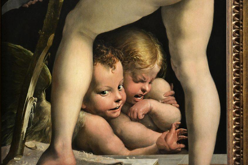 Kunsthistorisches Museum Wien, Parmigianino, Bogenschnitzender Amor
