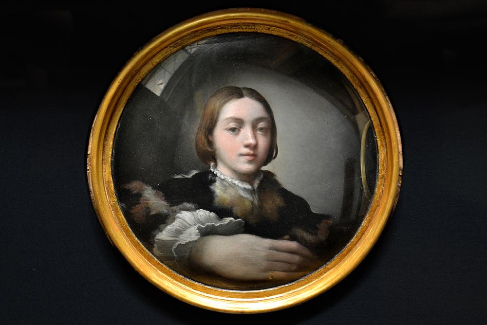 Kunsthistorisches Museum Wien, Selbstporträt im Spiegel