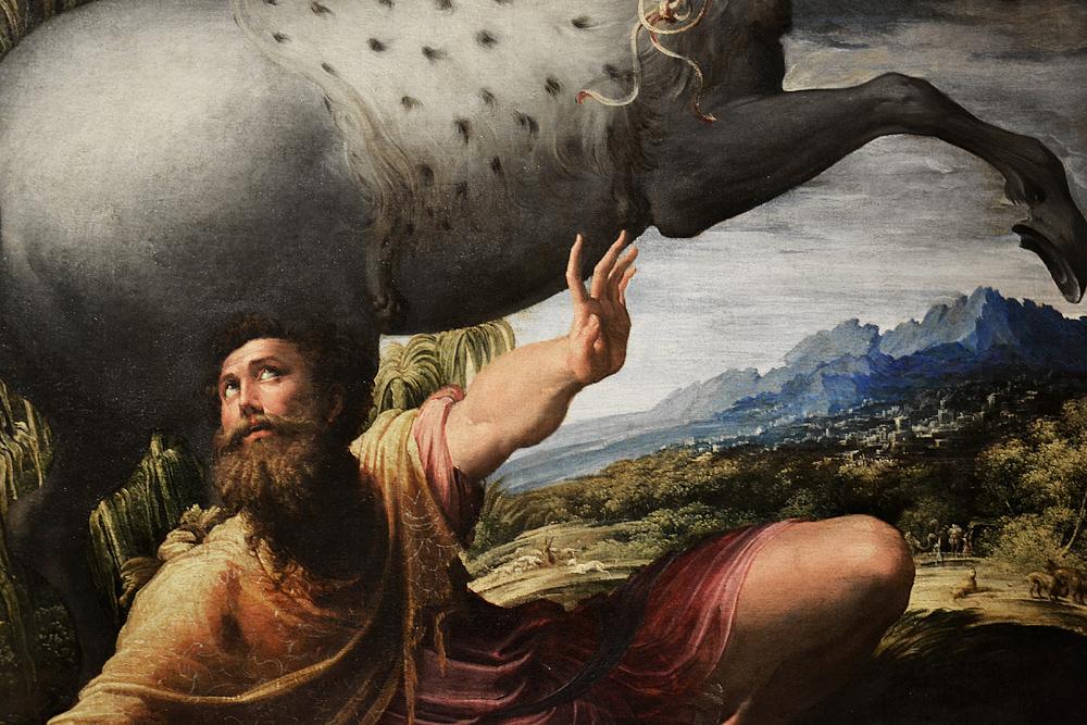 Kunsthistorisches Museum Wien, Parmigianino, Paulussturz