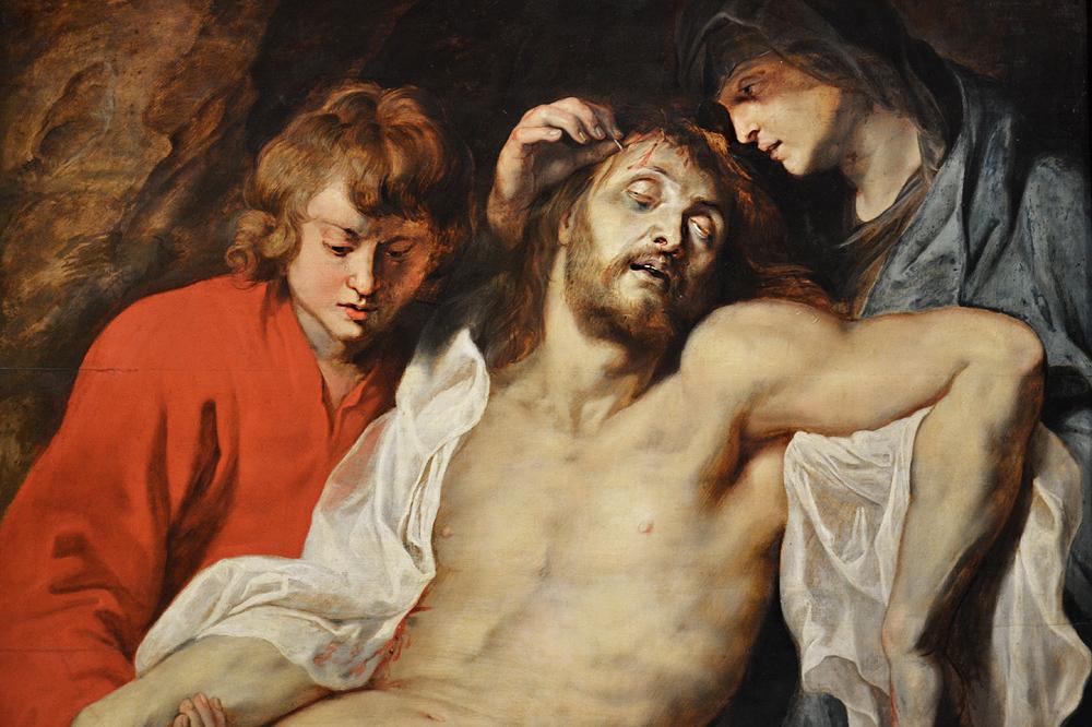 Kunsthistorisches Museum Wien, Peter Paul Rubens, Beweinung Christi durch Johannes und Maria