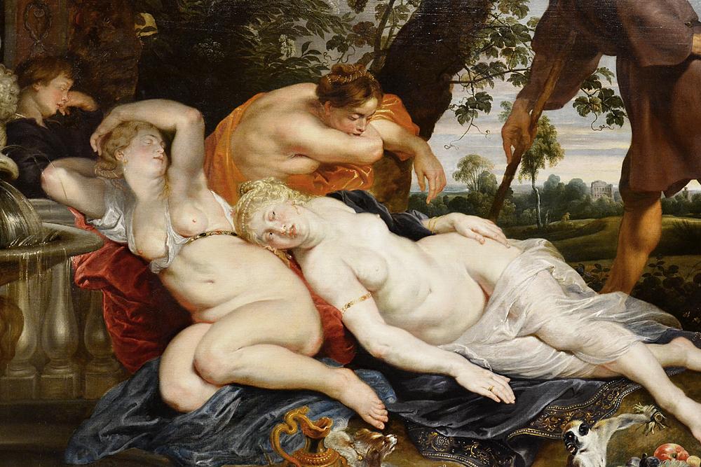 Kunsthistorisches Museum Wien, Peter Paul Rubens, Cimon und Efigenia