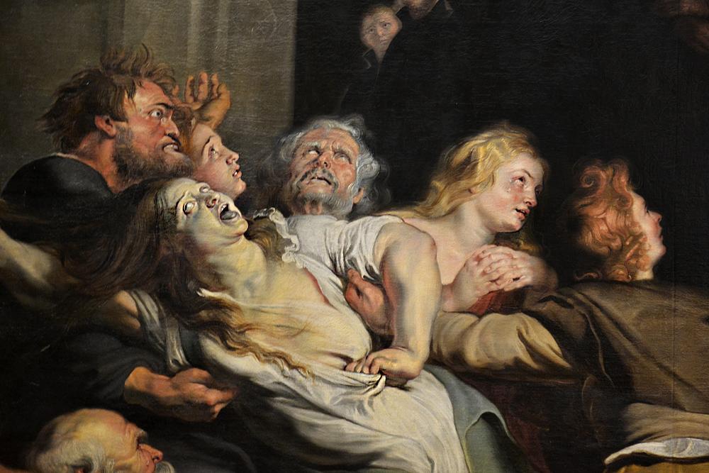 Kunsthistorisches Museum Wien, Peter Paul Rubens, Wunder des Ignatius von Ley