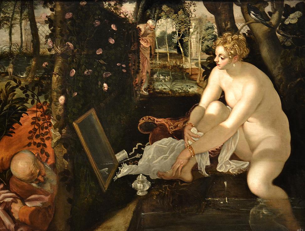 Kunsthistorisches Museum Wien, Tintoretto, Susanna im Bade