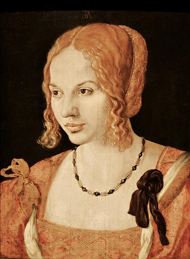 Kunsthistorisches Museum Wien, Albrecht Dürer, Bildnis einer Venezianerin