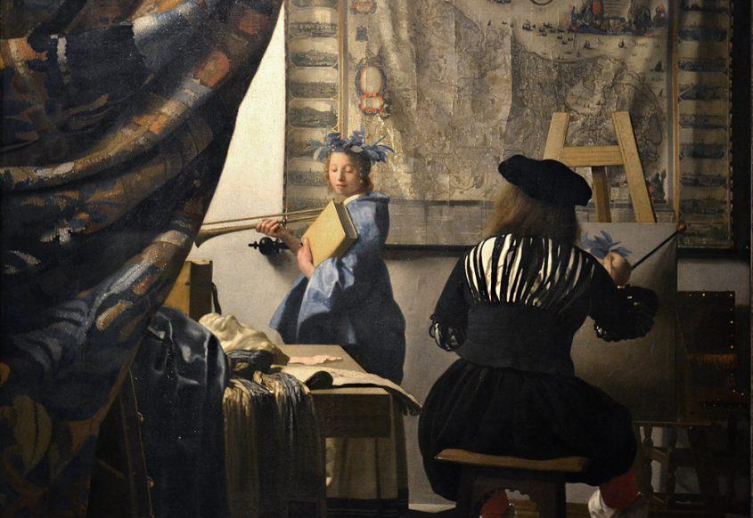 Kunsthistorisches Museum Wien, Johannes Vermeer van Delft, Die Malkunst