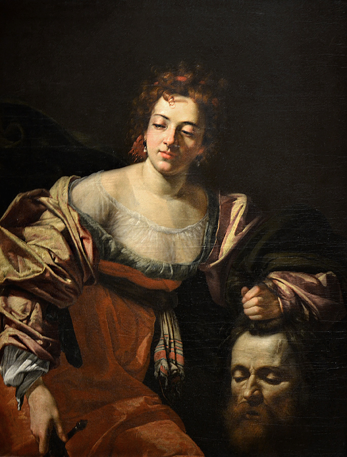Kunsthistorisches Museum Wien, Simon Vouet, Judith mit dem Haupt des Holofernes