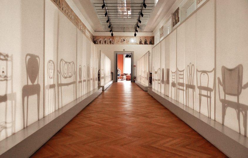 MAK, Wien Schausammlung Historismus Jugendstil (Thonet-Stühle)