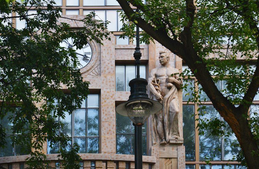 Párizsi Nagyáruhá in der Andrássy út, Jugendstil Budapest