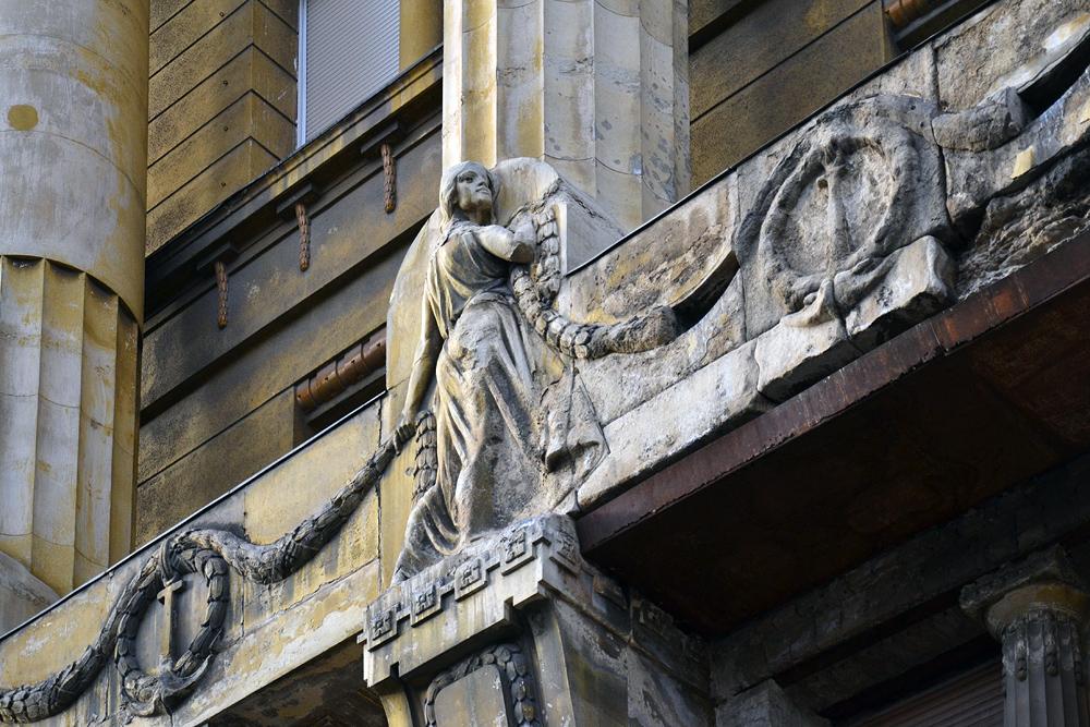 Anker Buidling am Deák Ferenc tér Budapest