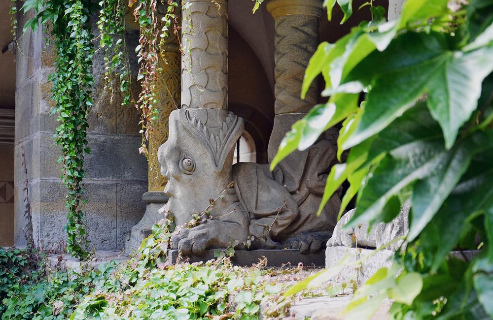 Säulenbasus, Vajdahunyad vára, Kreuzgang