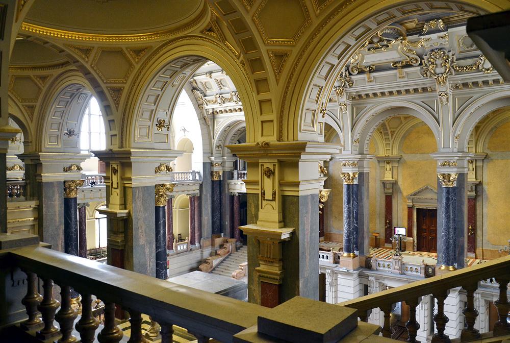 Eingangshalle Néprajzi Múzeum (Ethnografisches Museum) Budapest