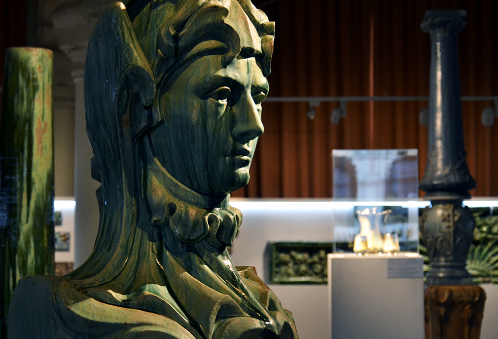 Alexander Bigot Pavilion, Iparművészeti Múzeum (Museum für Kunstgewerbe)