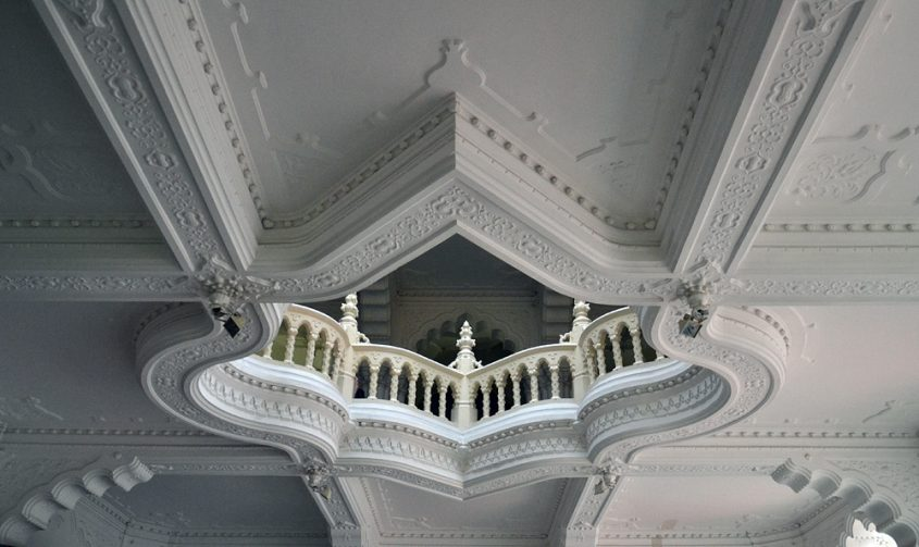 Balustrade im Iparművészeti Múzeum (Museum für Kunstgewerbe)