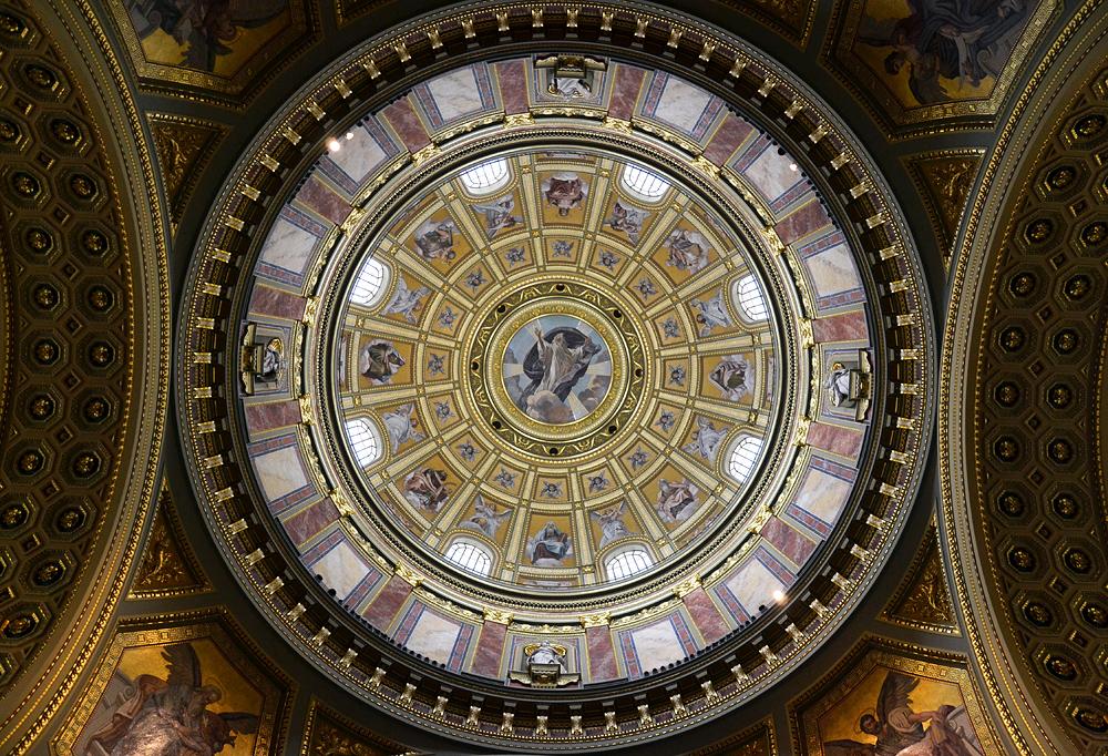 Szent István-bazilika, Budapest,Kuppel