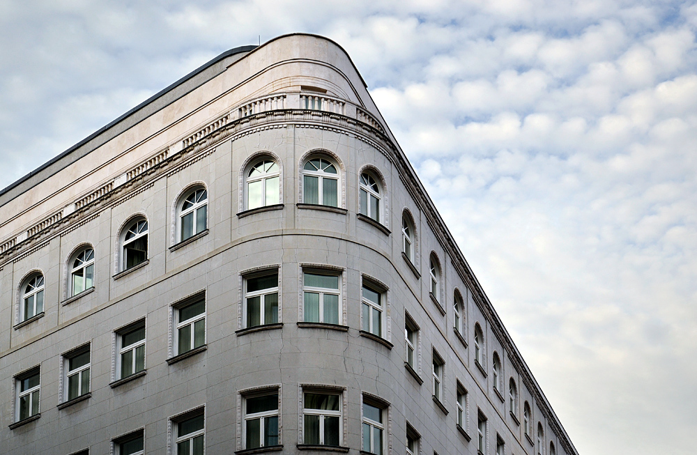 Wohnhaus am Vörösmarty tér Budapest