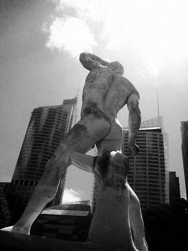 Boxer nach Antonio Canova, Botanical Gardens Sydney