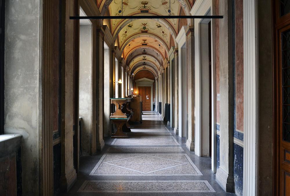 Wien, Gang in der Akademie der Bildenden Künste