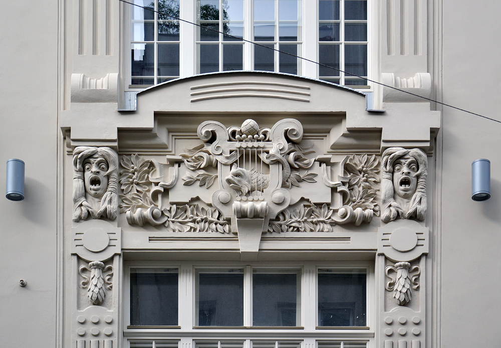 Wien, Fassadenschmuck
