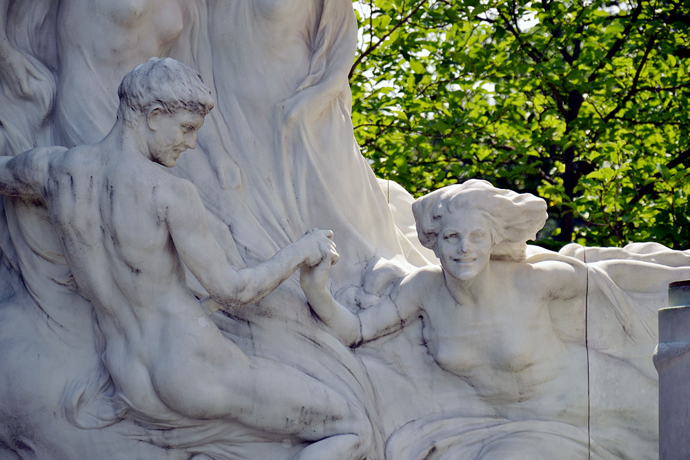 Wien, Johann-Strauß-Denkmal im Stadtpark