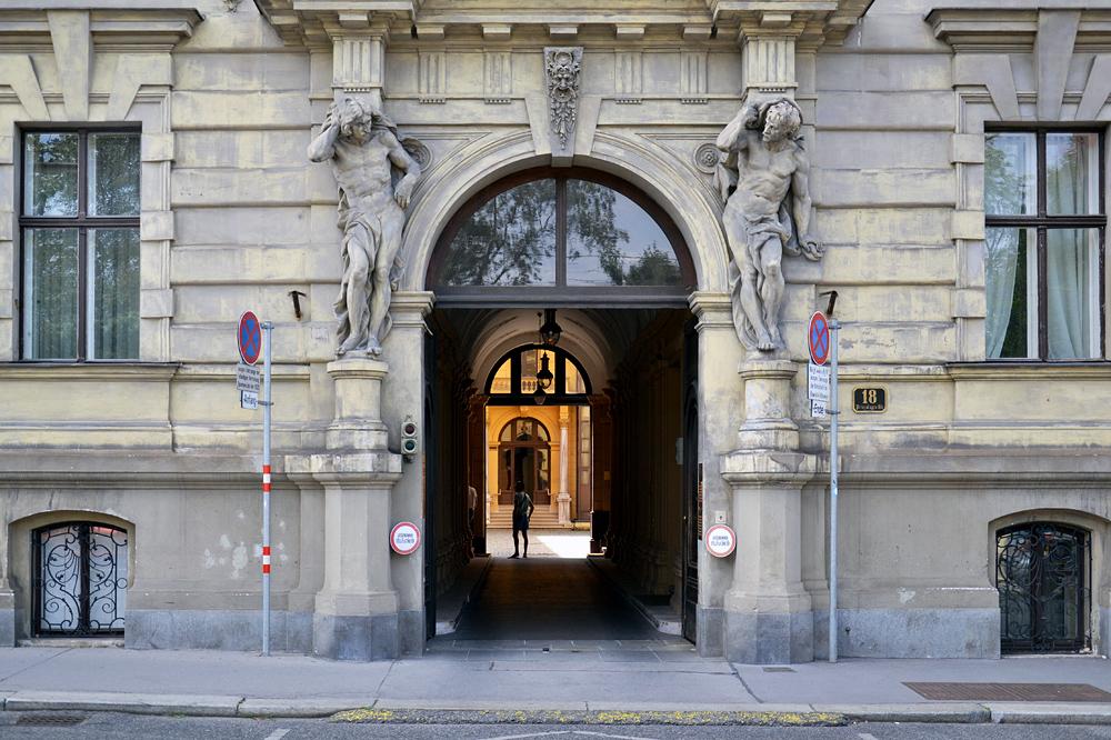 Wien, Brasilianische Botschaft im Palais Rothschild