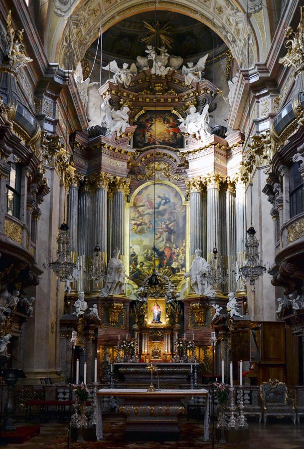 Wien, Hochaltar der Peterskirche