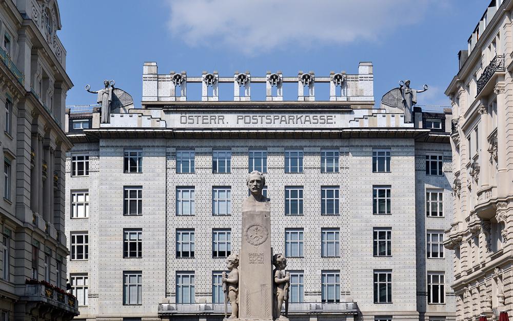 Wien, Österreichische Postsparkasse von Otto Wagner
