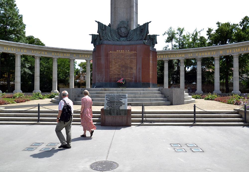 Wien, Heldendenkmal der Roten Armee