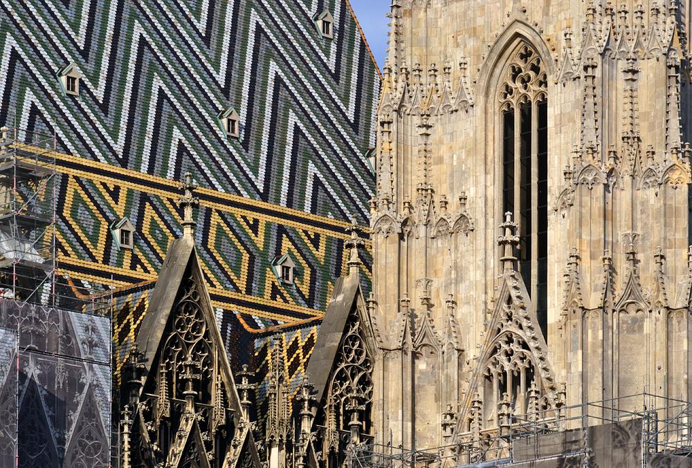 Wien, Dach des Stephansdoms