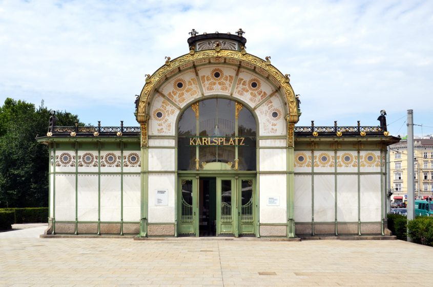 Otto-Wagner-Pavillon am Karlsplatz Wien