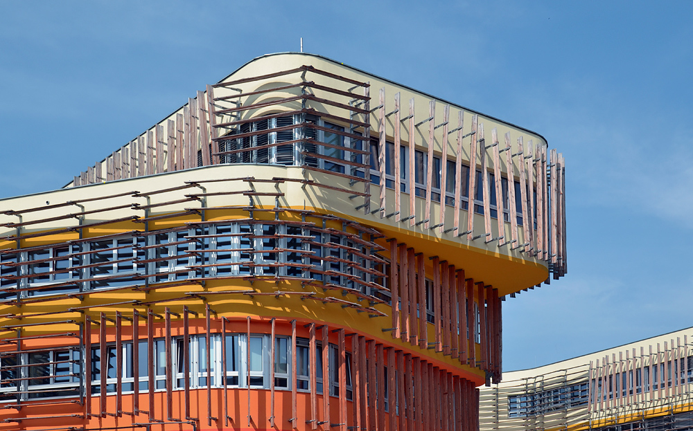 Wien WU Campus, D3/AD: Departments und Administration (CRABstudio, London)