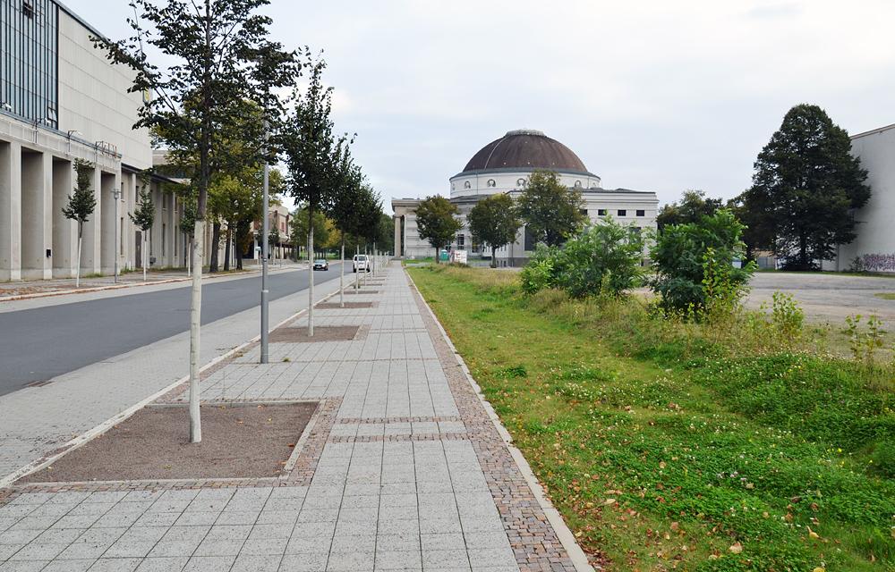 Alte Messe Leipzig, Kuppelbau