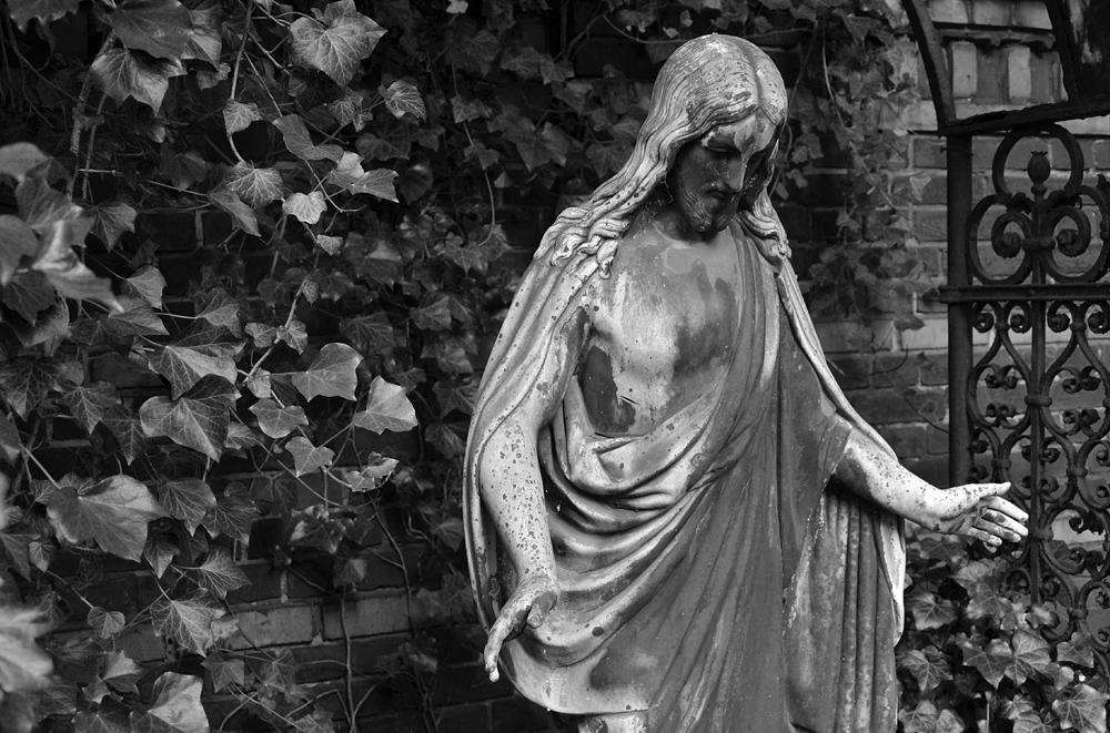 Alter Luisenstädtischer Friedhof, Christus, Heinss