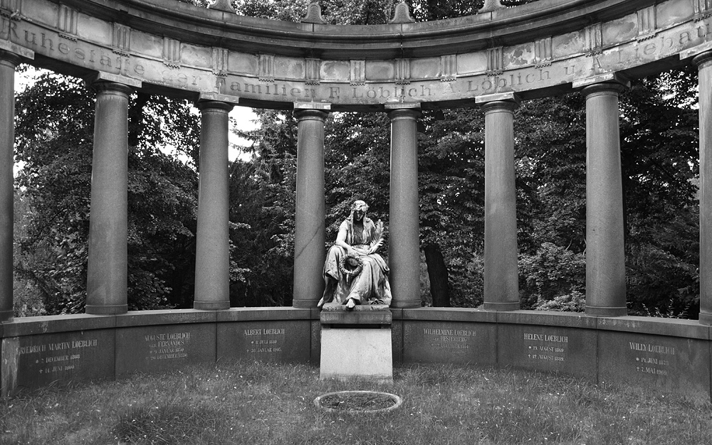 Alter Luisenstädtischer Friedhof, Mausoleum der Familie Löblich