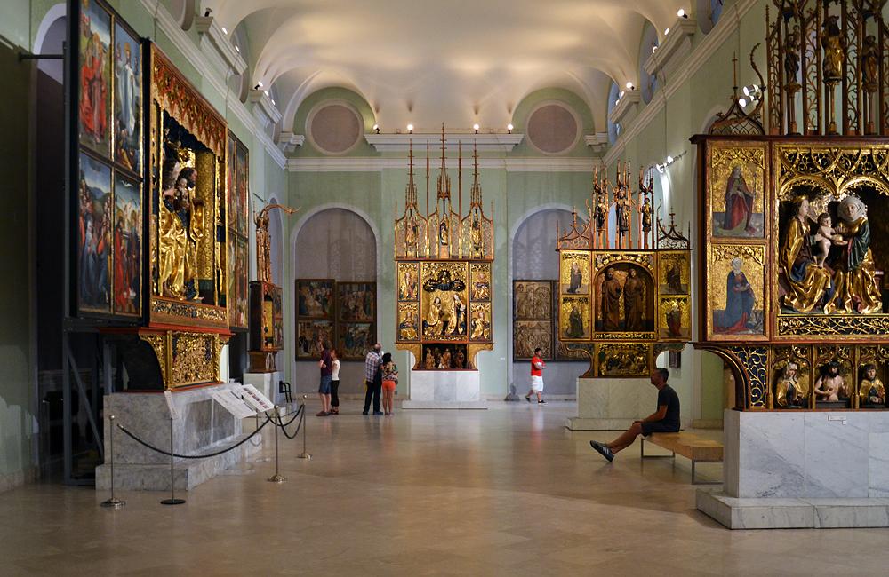 Spätgotische Altäre, Magyar Nemzeti Galéria Budapest