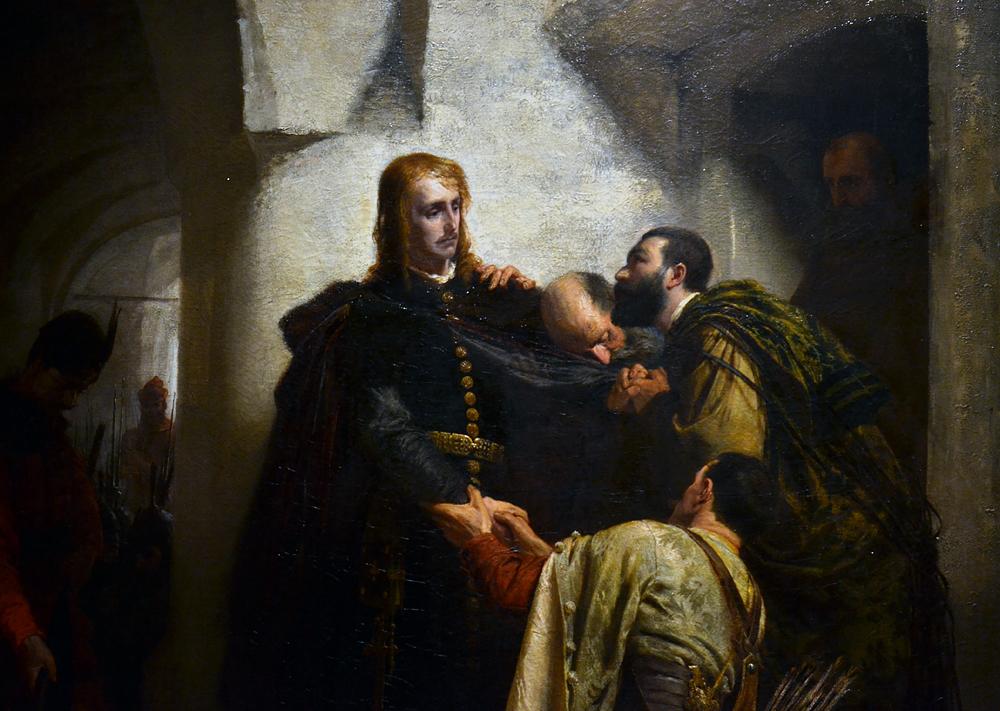 BENCZÙR Gyula, Hunyadi László's Farewell, Magyar Nemzeti Galéria Budapest