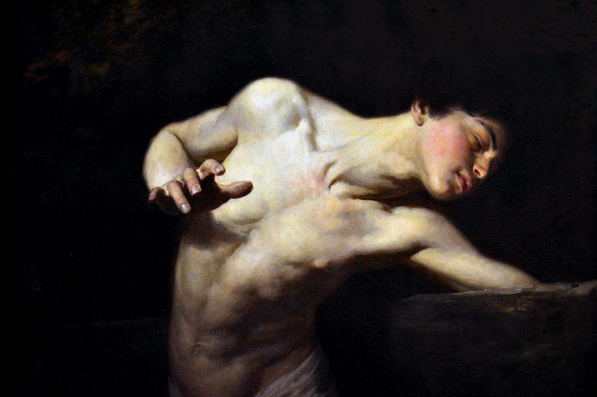 BENCZÙR Gyula, Narcissus, Magyar Nemzeti Galéria Budapest