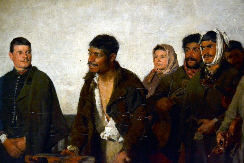 BIHARI Sándor, Before the Judge, Magyar Nemzeti Galéria Budapest