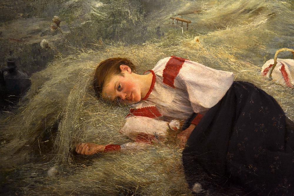 CSÒK István, Hay-Making, Magyar Nemzeti Galéria Budapest