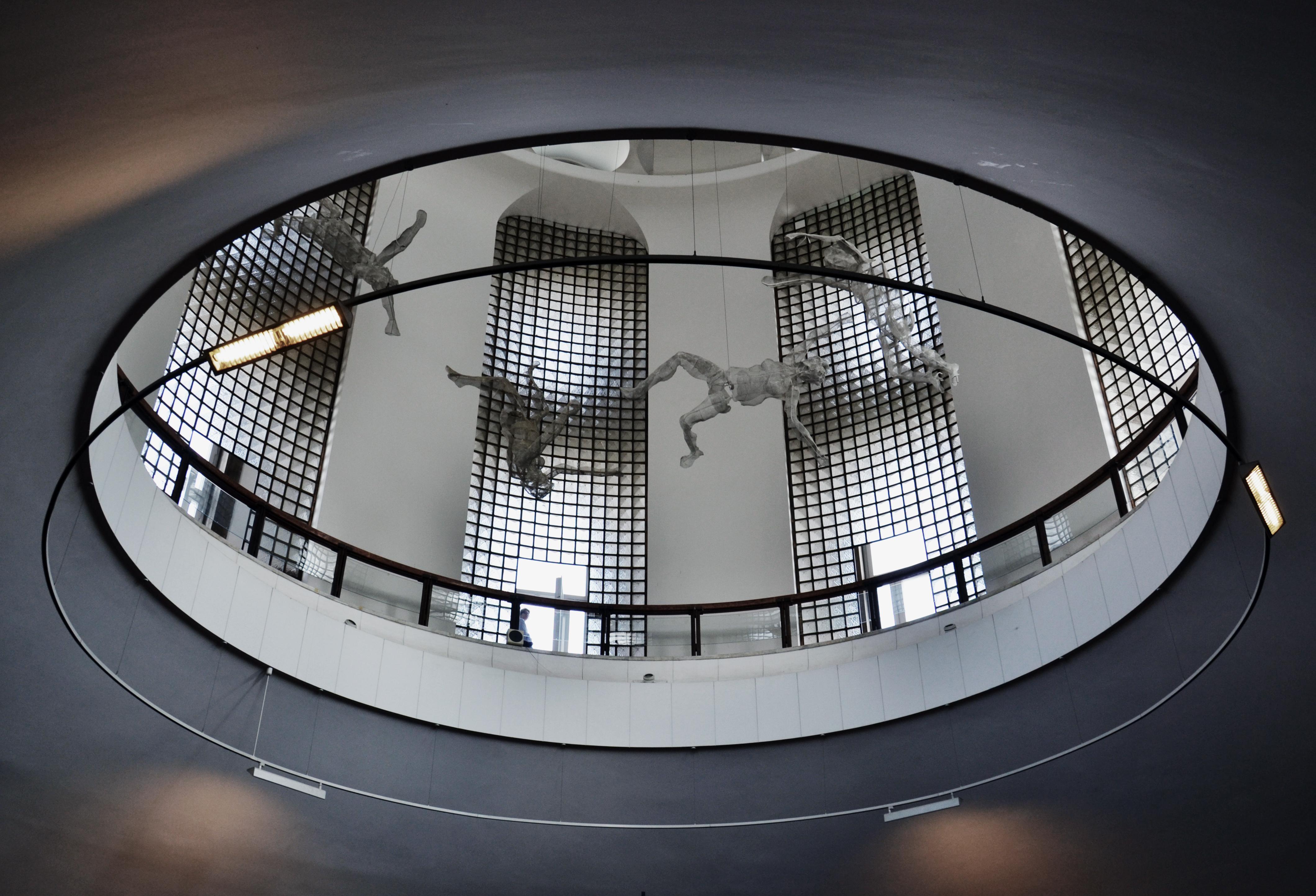 BERCZELLER Rezső , Apocalypse, Kuppel, Magyar Nemzeti Galéria Budapest