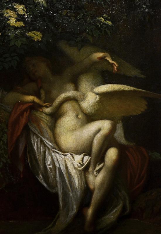 SZÈKELY Bertalan, Leda and the Swan, Magyar Nemzeti Galéria Budapest