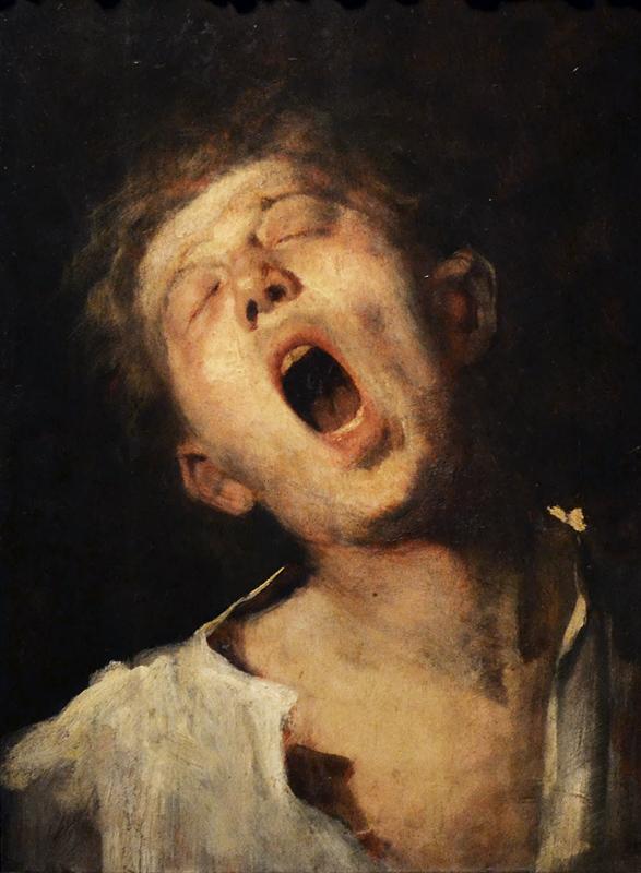 MUNKÀCSY Mihály, Yawning Apprentice, Magyar Nemzeti Galéria Budapest
