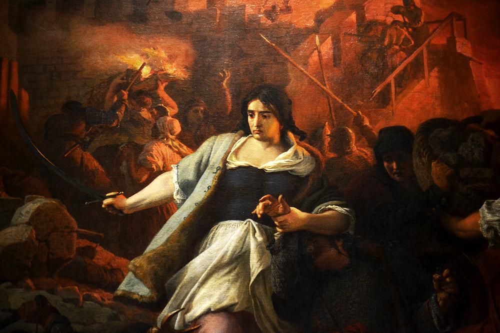 SZÈKELY Bertalan, The Women of Eger, Magyar Nemzeti Galéria Budapest