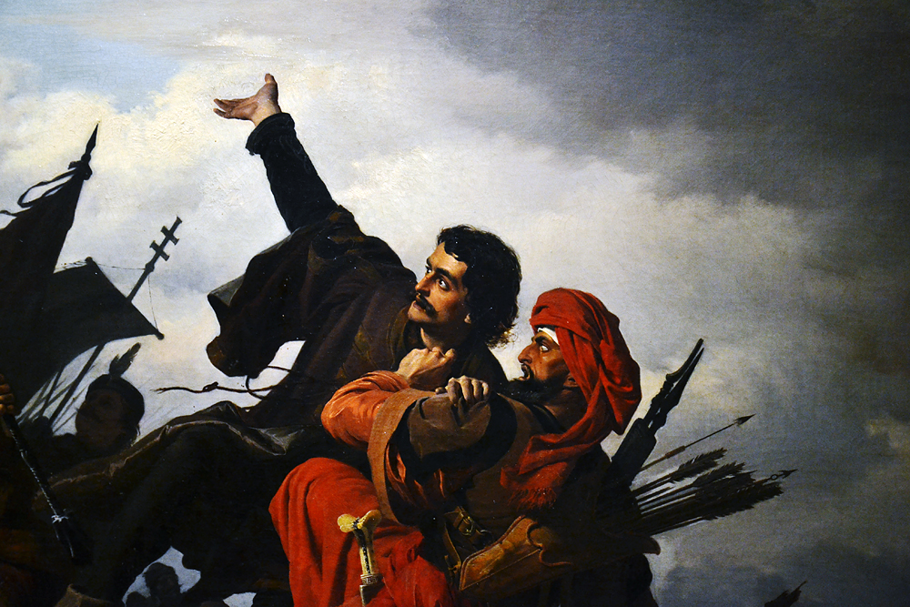 WAGNER Sanòr, Dugovics Titusz Seld-Sacrifice, Magyar Nemzeti Galéria Budapest