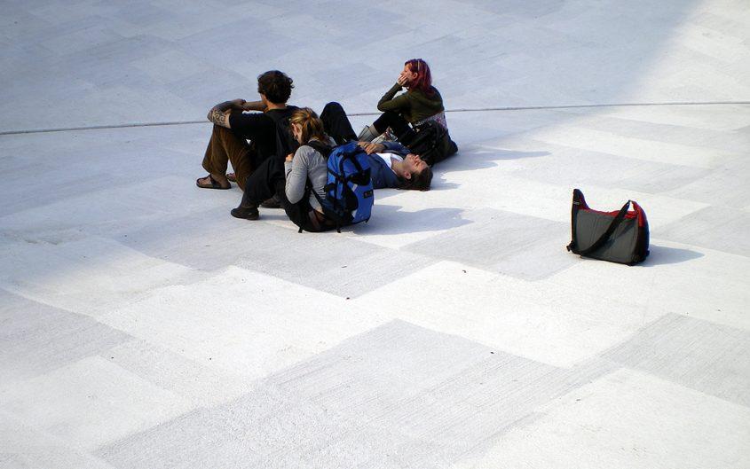 Skulptur Projekte Münster 2007, Bruce Naumann, Square Depression