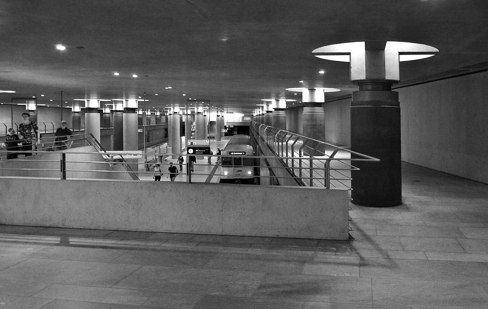 Fabian Fröhlich, U-Bahnhof Bundestag Berlin