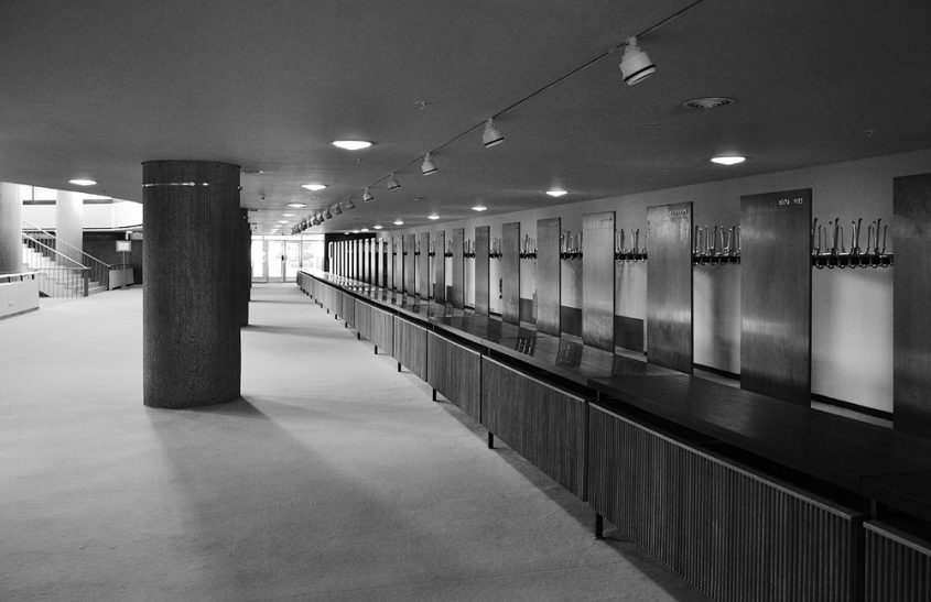 Kongresshalle Berlin, Garderobe