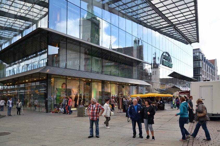 Chemnitz, Galeria Kaufhof, Helmut Jahn