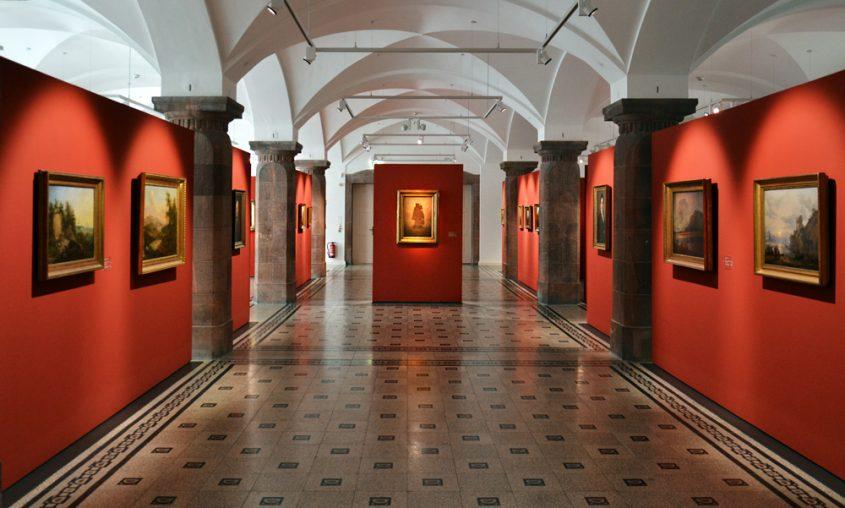 Caspar David Friedrich, Malerei der Romantik in den Kunstsammlungen Chemnitz