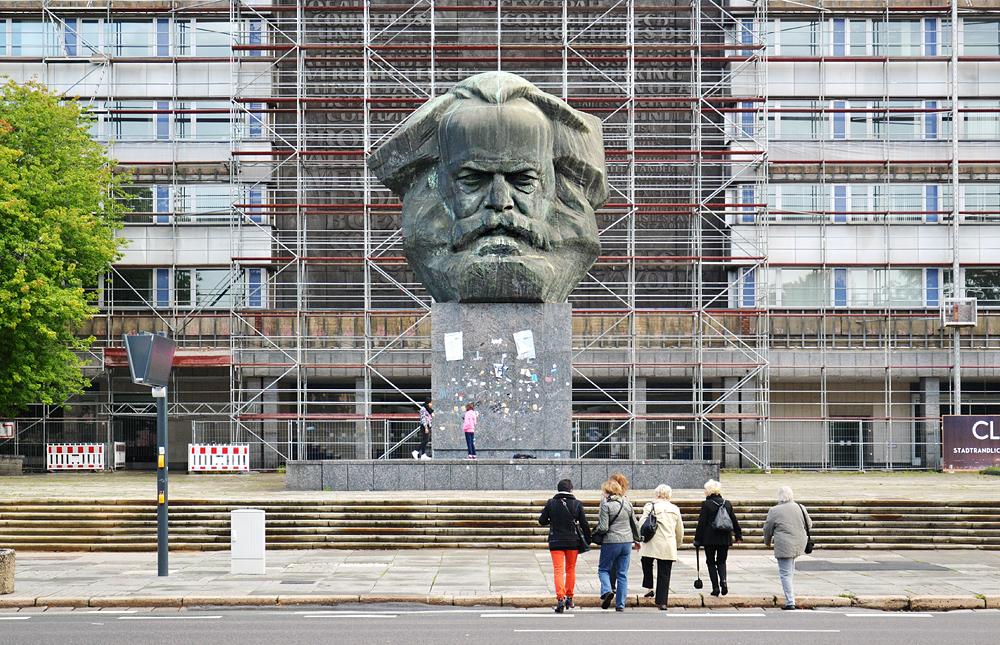 Chemnitz, Karl Marx Monument