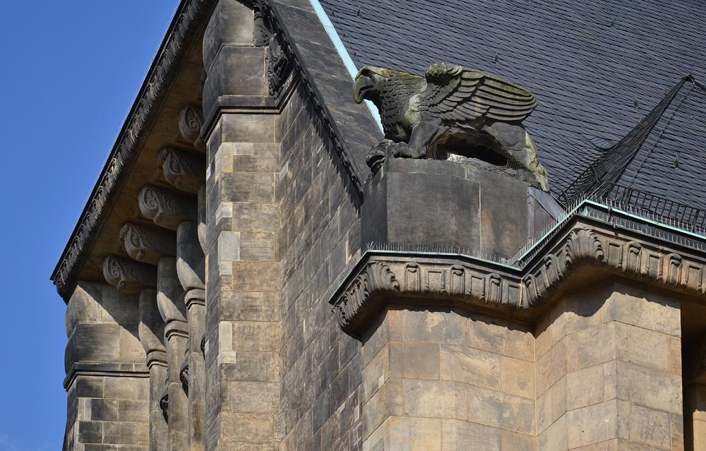 Chemnitz, Fassade der Stadtkirche St. Jakobi